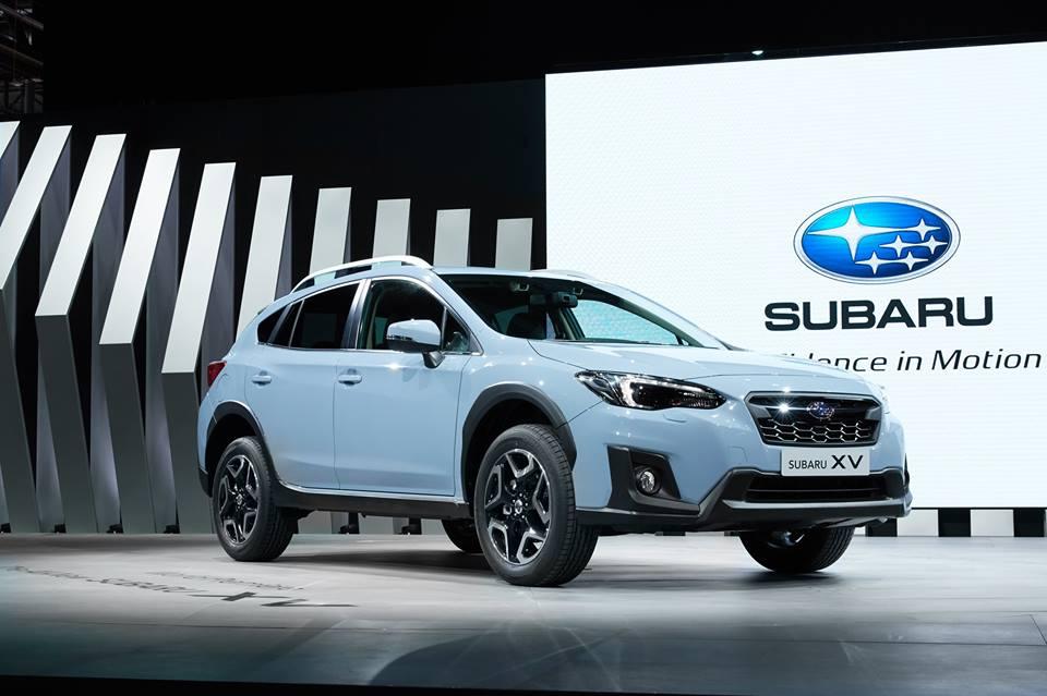 Мировая премьера компактного кроссовера Subaru XV